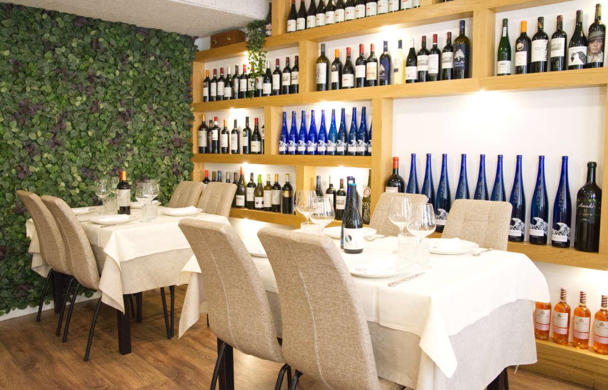 Mesas comedor restaurante
