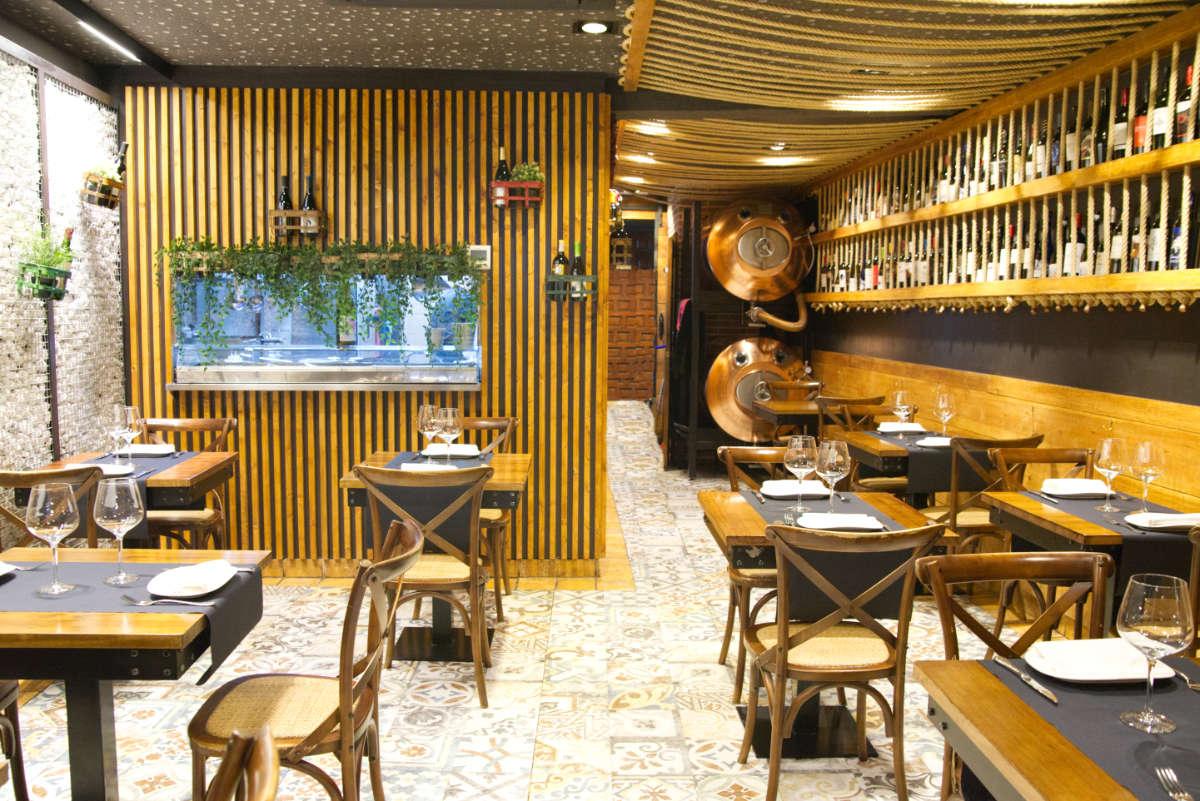 Comedor menú del día Brasserie Turcanu, Castro Urdiales