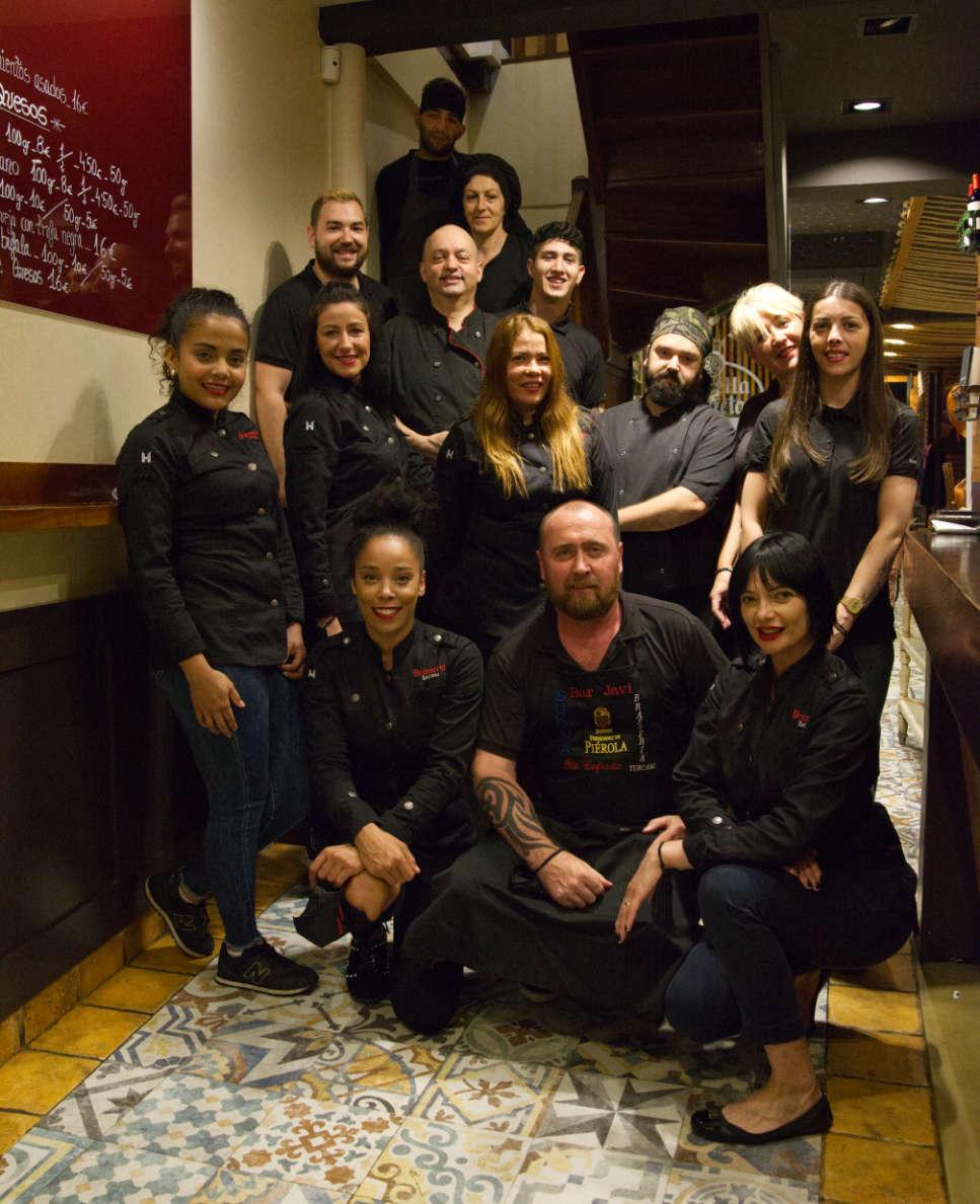 Equipo humano Brasserie Turcanu de Castro Urdiales
